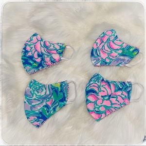 Other - Lilly Pulitzer kids face mask